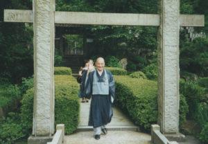 Herinnering aan Harada Tangen Roshi